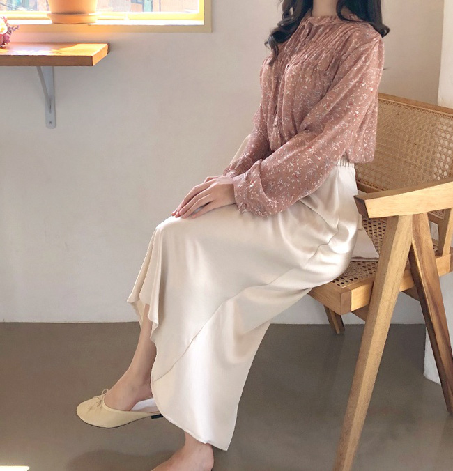 10 cách diện áo hoa cực xinh yêu từ gái Hàn, áp dụng theo thì style chỉ có chuẩn sang xịn-7