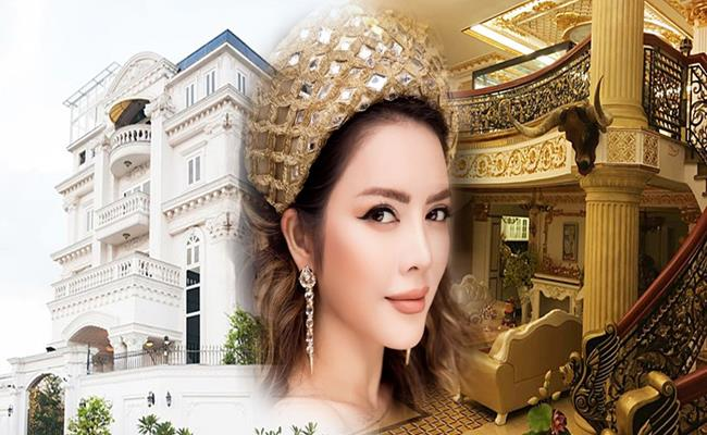 Nhà dát vàng lộng lẫy của Lý Nhã Kỳ và dàn sao Việt giàu nứt đố đổ-14