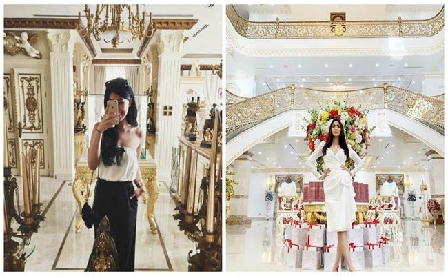 Nhà dát vàng lộng lẫy của Lý Nhã Kỳ và dàn sao Việt giàu nứt đố đổ-24
