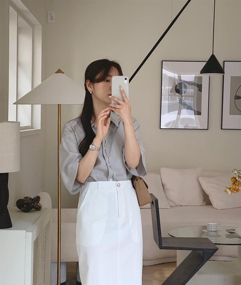 Diện áo sơ mi thì để kiểu tóc nào là sang xịn mịn nhất? Gái Hàn sành điệu mách bạn 5 gợi ý chuẩn chỉnh-10