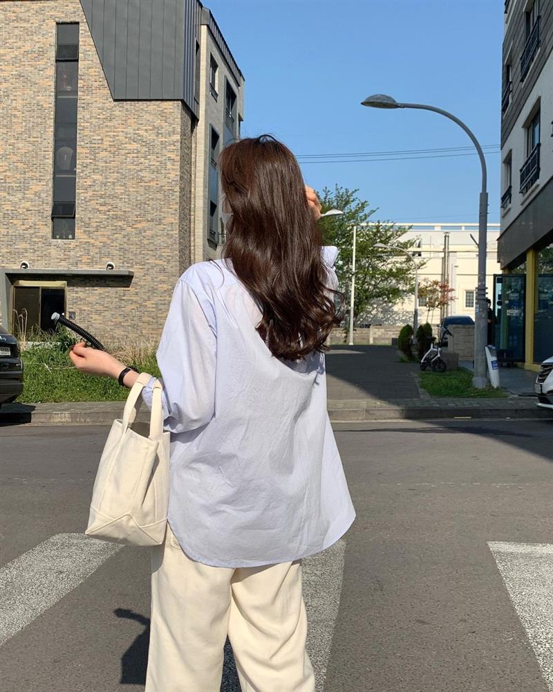 Diện áo sơ mi thì để kiểu tóc nào là sang xịn mịn nhất? Gái Hàn sành điệu mách bạn 5 gợi ý chuẩn chỉnh-17
