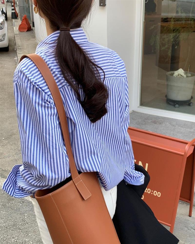 Diện áo sơ mi thì để kiểu tóc nào là sang xịn mịn nhất? Gái Hàn sành điệu mách bạn 5 gợi ý chuẩn chỉnh-6