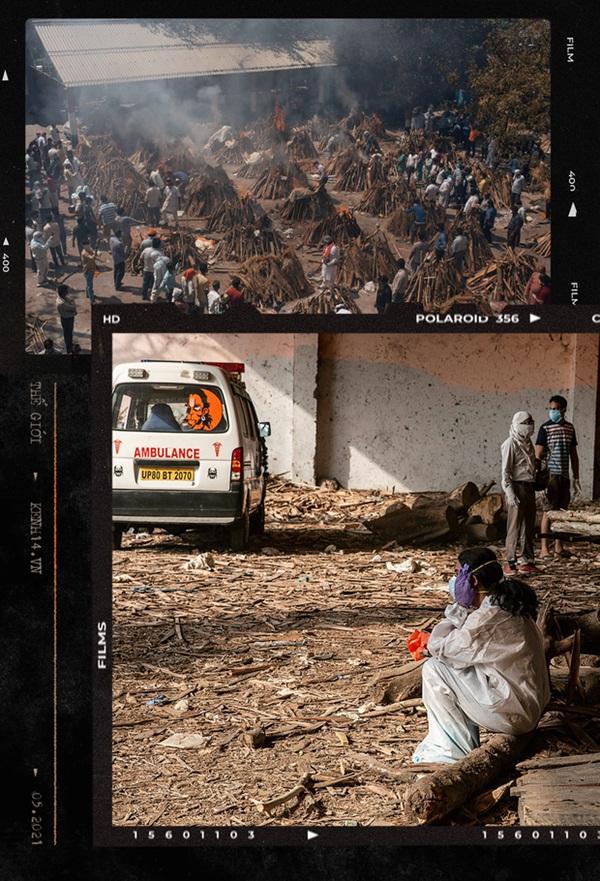 Một ngày tại lò hỏa táng giữa địa ngục Covid Ấn Độ: Khi cái chết là sự thật duy nhất trong các lò hỏa thiêu đang đỏ lửa ngày đêm-1