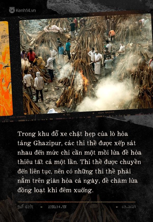 Một ngày tại lò hỏa táng giữa địa ngục Covid Ấn Độ: Khi cái chết là sự thật duy nhất trong các lò hỏa thiêu đang đỏ lửa ngày đêm-4