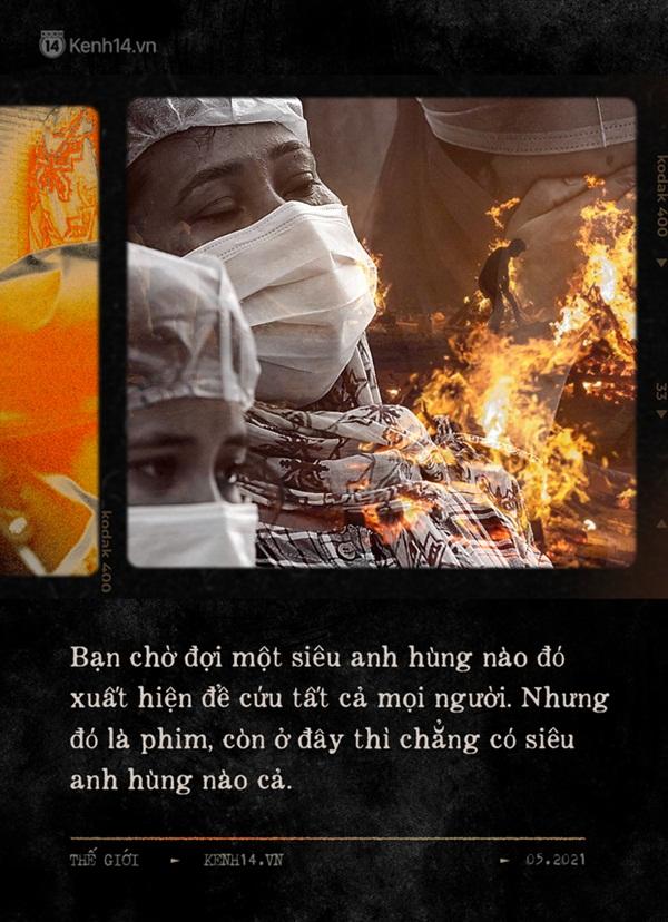 Một ngày tại lò hỏa táng giữa địa ngục Covid Ấn Độ: Khi cái chết là sự thật duy nhất trong các lò hỏa thiêu đang đỏ lửa ngày đêm-5