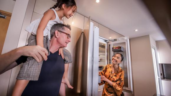 Không gian bếp sang trọng, tiện nghi như nhà hàng của ca sĩ Đoan Trang-15