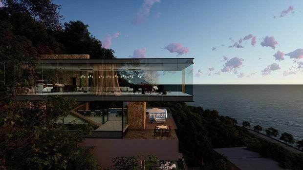 Bà xã Chi Bảo khoe được chồng tặng biệt thự view biển siêu đồ sộ, phản ứng lầy lội khiến dân tình phải bật cười-3