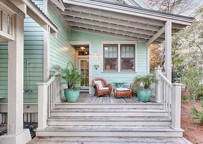 Ý tưởng nhà gỗ đầy màu sắc được thiết kế theo phong cách đơn giản nhưng nhìn góc nào cũng hấp dẫn bởi những chi tiết độc đáo này-21