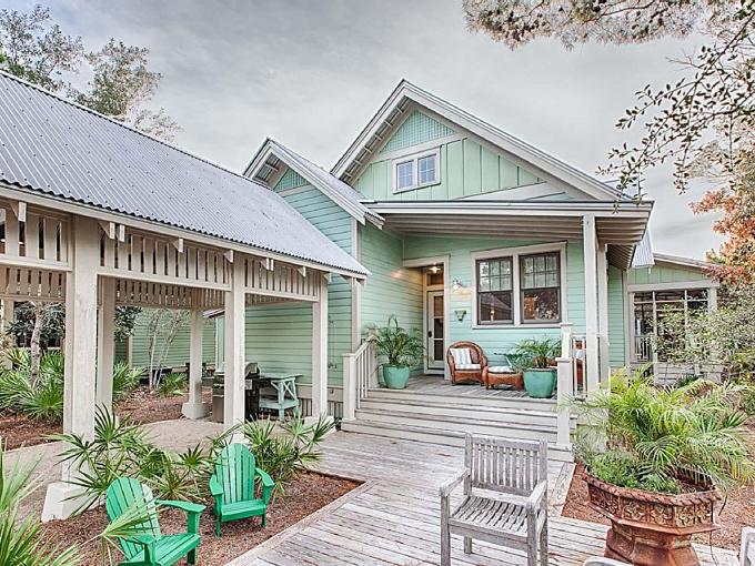 Ý tưởng nhà gỗ đầy màu sắc được thiết kế theo phong cách đơn giản nhưng nhìn góc nào cũng hấp dẫn bởi những chi tiết độc đáo này-23