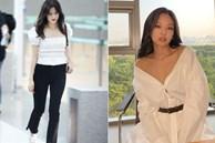 Cùng là 1 mẫu blouse/sơ mi nhưng BLACKPINK có nhiều kiểu mix mà các nàng nên học theo ngay