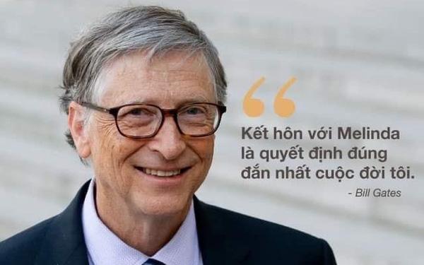 Trước khi LY HÔN, đệ nhất ngôn tình Bill Gates từng tấm tắc: Kết hôn với Melinda là quyết định sáng suốt nhất đời tôi-1