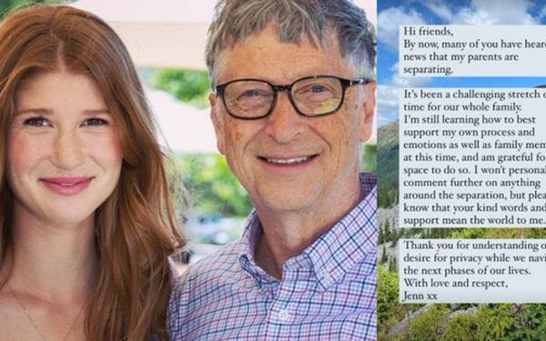 Con gái cả của Bill Gates lần đầu lên tiếng về vụ ly hôn chấn động của cha mẹ: Đây là khoảng thời gian thách thức đối với cả gia đình-1