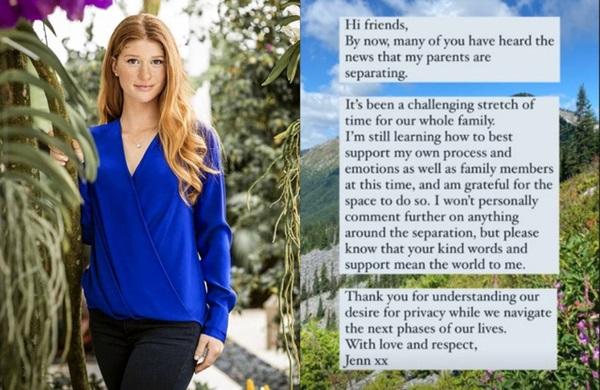 Con gái cả của Bill Gates lần đầu lên tiếng về vụ ly hôn chấn động của cha mẹ: Đây là khoảng thời gian thách thức đối với cả gia đình-3
