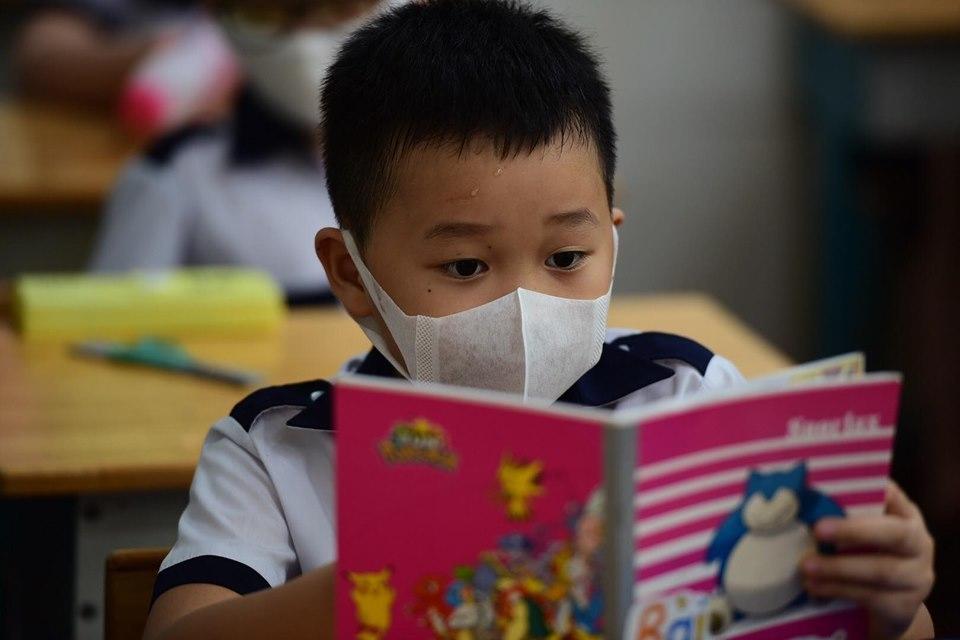 Trường học Hà Nội sẵn sàng thi học kỳ II bằng hình thức trực tuyến-1