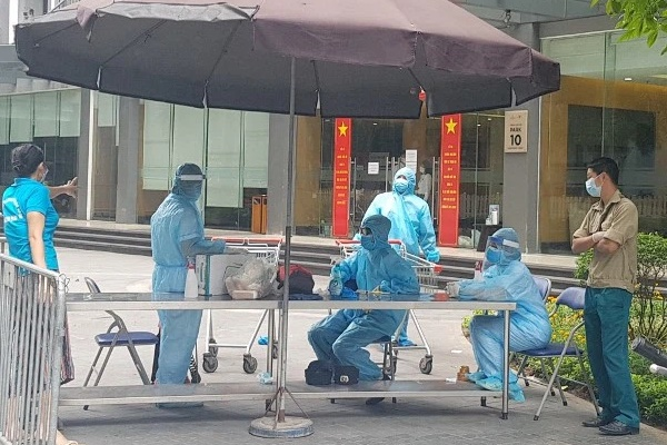 Hà Nội: 42 người cùng tầng với bệnh nhân Covid-19 tại Times City Park Hill đã có kết quả âm tính-1
