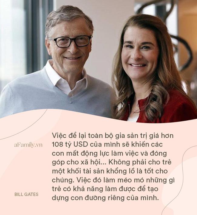 Bill Gates và vợ cung đàn vỡ đôi, nhìn lại 8 nguyên tắc dạy con siêu hay ho của cặp đôi một thời, ai cũng ngưỡng mộ-2