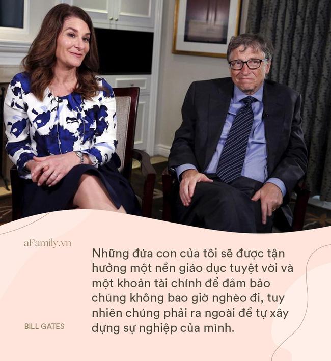 Bill Gates và vợ cung đàn vỡ đôi, nhìn lại 8 nguyên tắc dạy con siêu hay ho của cặp đôi một thời, ai cũng ngưỡng mộ-3