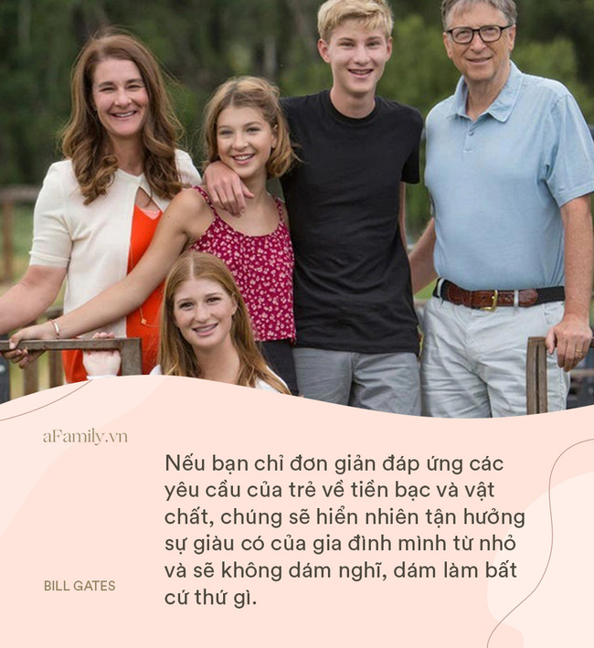 Bill Gates và vợ cung đàn vỡ đôi, nhìn lại 8 nguyên tắc dạy con siêu hay ho của cặp đôi một thời, ai cũng ngưỡng mộ-4