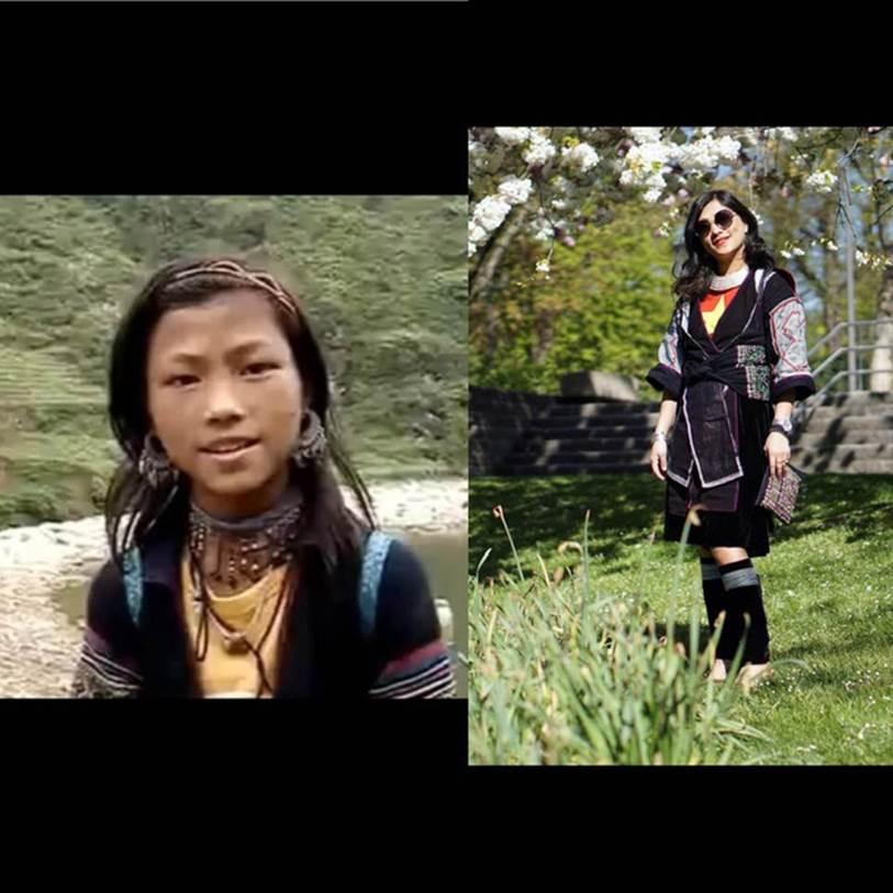 Cô gái HMông nói tiếng Anh như gió mặc cùng bộ trang phục 16 năm trước, khiến ai nấy ngỡ ngàng với sự khác biệt ở hiện tại-1