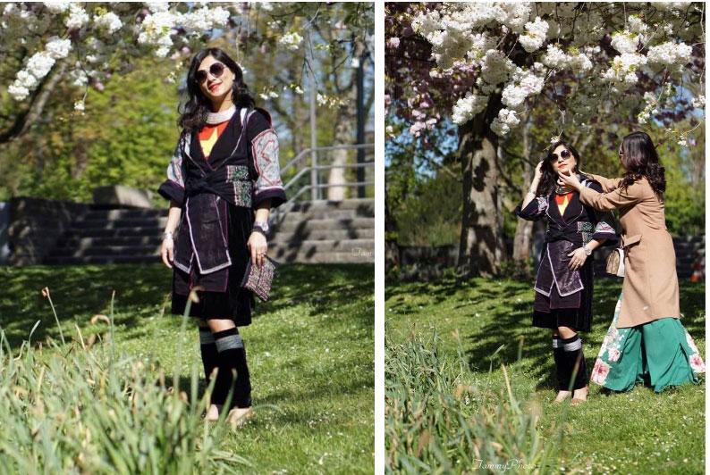 Cô gái HMông nói tiếng Anh như gió mặc cùng bộ trang phục 16 năm trước, khiến ai nấy ngỡ ngàng với sự khác biệt ở hiện tại-4