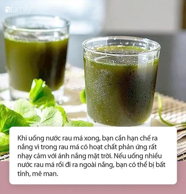 Nước rau má vừa ngon lại mát vào mùa nắng nóng nhưng đừng uống theo những cách này kẻo thành công cốc!-2