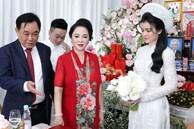 Toàn cảnh đám hỏi siêu kín tiếng của con trai bà Phương Hằng - vợ ông Dũng 'lò vôi' tại Bình Dương, gia đình cô dâu lần đầu được tiết lộ khiến nhiều người bất ngờ