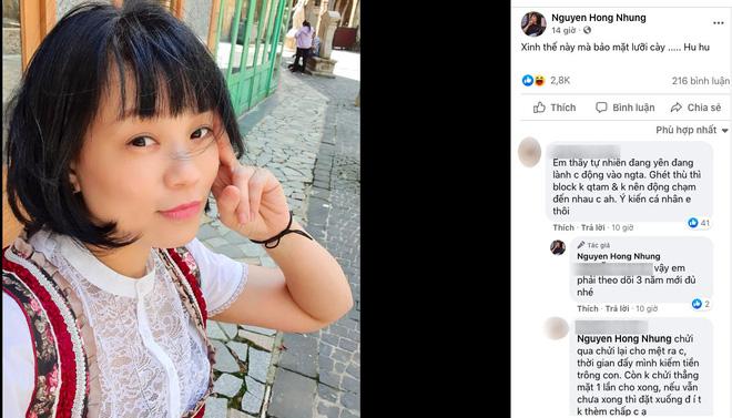 Được khuyên nhủ không nên đụng vào Trang Trần, vợ danh hài Xuân Bắc đáp trả-1
