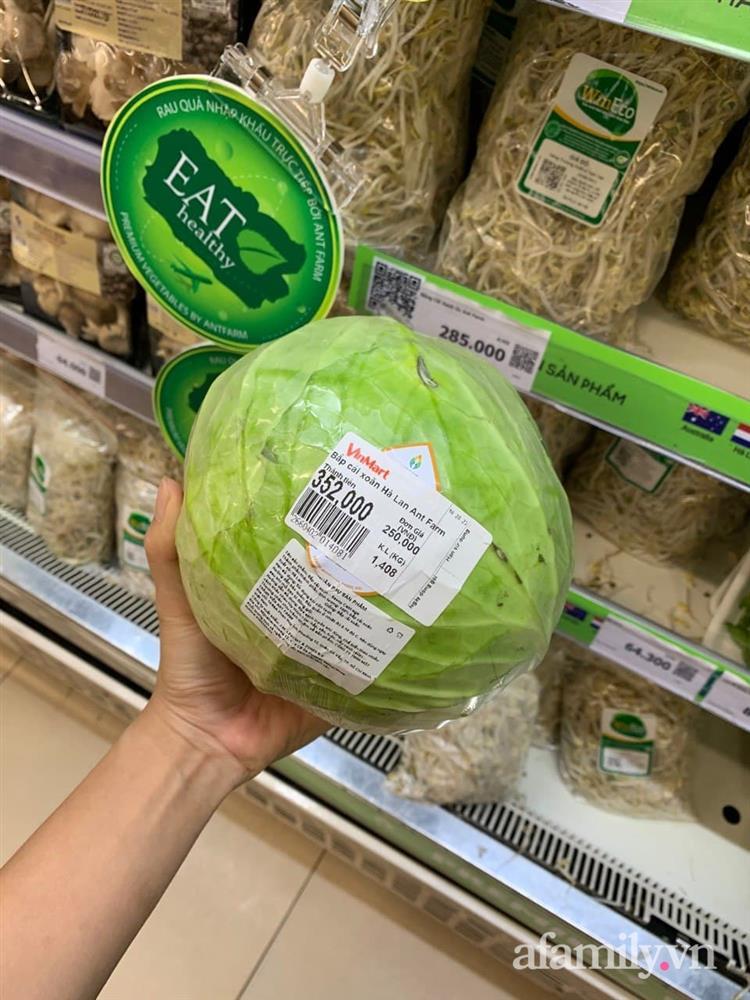 Xách làn đi siêu thị, bà nội trợ hơi choáng vì cái súp lơ với bắp cải có giá lên đến 300k-7