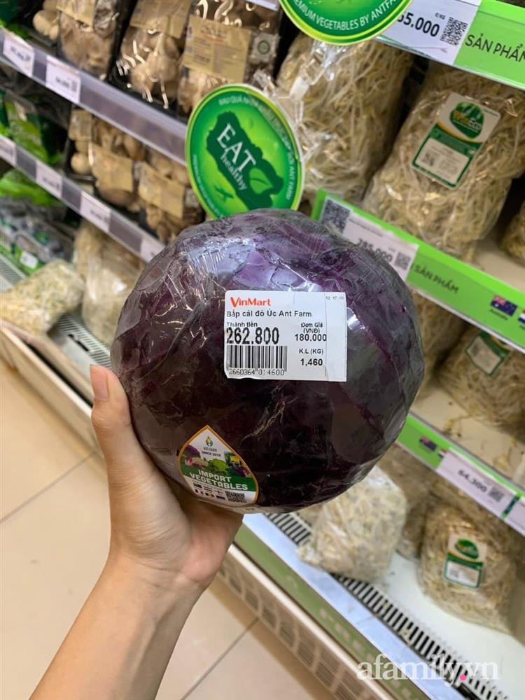 Xách làn đi siêu thị, bà nội trợ hơi choáng vì cái súp lơ với bắp cải có giá lên đến 300k-8