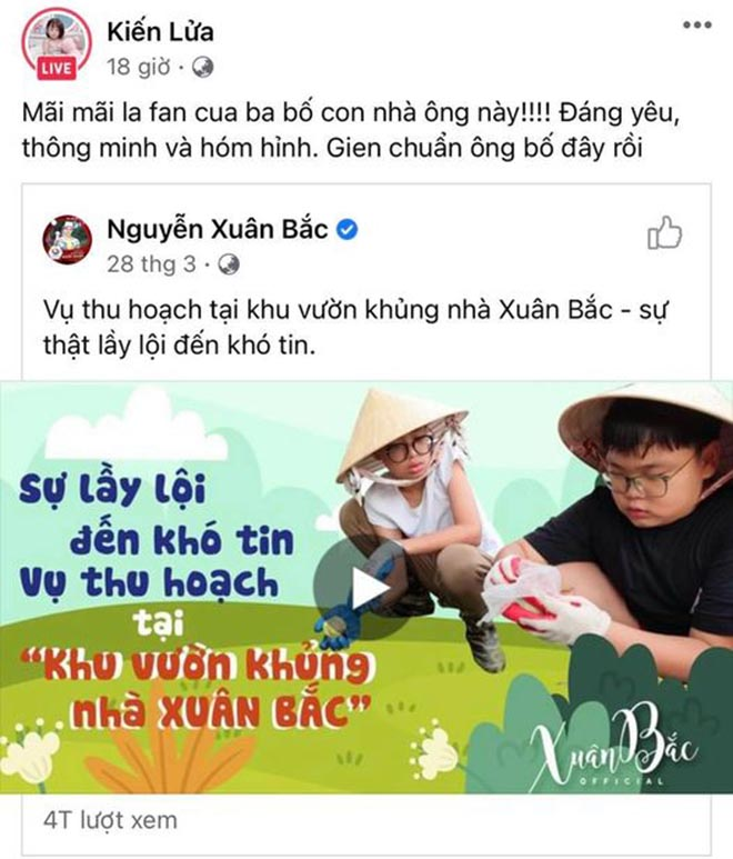 """Hành động bất ngờ của Trang Trần sau khi dằn mặt"""" vợ danh hài Xuân Bắc-1"""