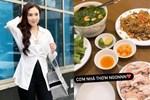 MC 'hot nhất VTV' chăm chỉ ở nhà nấu ăn, nhìn mâm cơm ngon lành, sạch sẽ là biết cô nàng đảm đang cỡ nào
