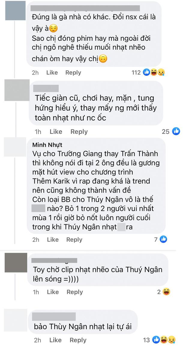 Thuý Ngân vừa xác nhận tham gia Running Man Việt, netizen thẳng thừng chê nhạt-3