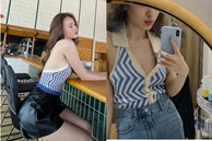 Đú trend mua 'áo Lan Ngọc', tưởng sexy thế nào ai dè vòng 1 của mình 'biến mất' luôn