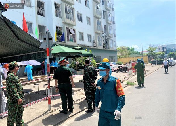 Đà Nẵng phong tỏa 1 chung cư, xét nghiệm 500 người vì liên quan đến ca dương tính với SARS-CoV-2-2