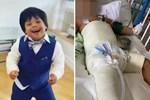 Bé trai 3 tuổi mắc hội chứng Down rơi từ tầng 5 xuống đất gây xôn xao cả khu phố, cảnh sát cũng vào cuộc điều tra