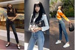 Học Lisa 13 cách diện quần jeans siêu cấp sành điệu, chị em sẽ không thể mặc xấu