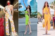 Netizen 'xỉu ngang' với số outfit của Khánh Vân: 5 ngày mặc 8 set đẹp đỉnh, định san phẳng Miss Universe luôn hay gì?