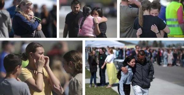 Chấn động: Nữ sinh lớp 6 xả súng ở trường học Mỹ khiến 3 người bị thương, học sinh và phụ huynh hoảng loạn tột độ-3