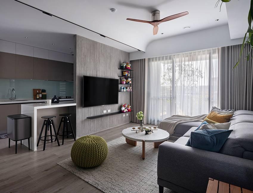 Căn nhà có diện tích 24m2 với lối thiết kế thông minh giúp không gian cực kỳ thoáng mát, mỗi bước chân như lạcvào khu rừng xanh tươi-10
