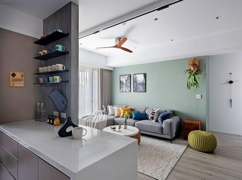 Căn nhà có diện tích 24m2 với lối thiết kế thông minh giúp không gian cực kỳ thoáng mát, mỗi bước chân như lạcvào khu rừng xanh tươi-13