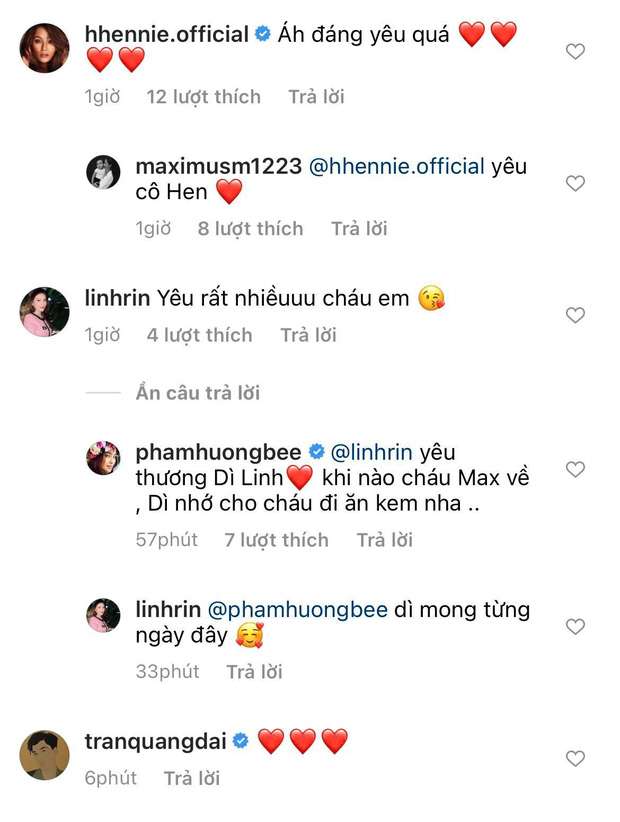 Phạm Hương tung ảnh quý tử lúc 4 tháng tuổi, H'Hen Niê và bạn gái Phillip Nguyễn nhanh như chớp bình luận điều này!-2