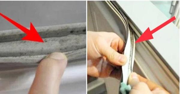 Miếng đệm cánh tủ lạnh cáu bẩn đen thui, chứa đầy vi khuẩn: 3 mẹo nhỏ giúp lau chùi sạch bong-1