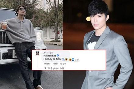 Bị netizen phát hiện bình luận dạo ảnh Sơn Tùng khoe xe chục tỷ, Nathan Lee ngượng chín mặt lên luôn Facebook thừa nhận 1 điều