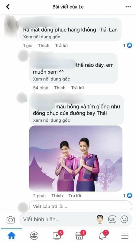 Bộ cánh của Khánh Vân bị nhận xét giống đồng phục hàng không Thái Lan-4