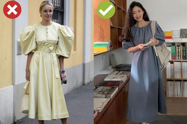 4 lỗi diện váy dài khiến nàng cao ráo cũng thành một mẩu, dáng bị to ngang-2