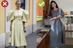 4 lỗi diện váy dài khiến nàng cao ráo cũng thành 'một mẩu', dáng bị to ngang