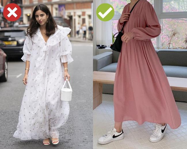4 lỗi diện váy dài khiến nàng cao ráo cũng thành một mẩu, dáng bị to ngang-3