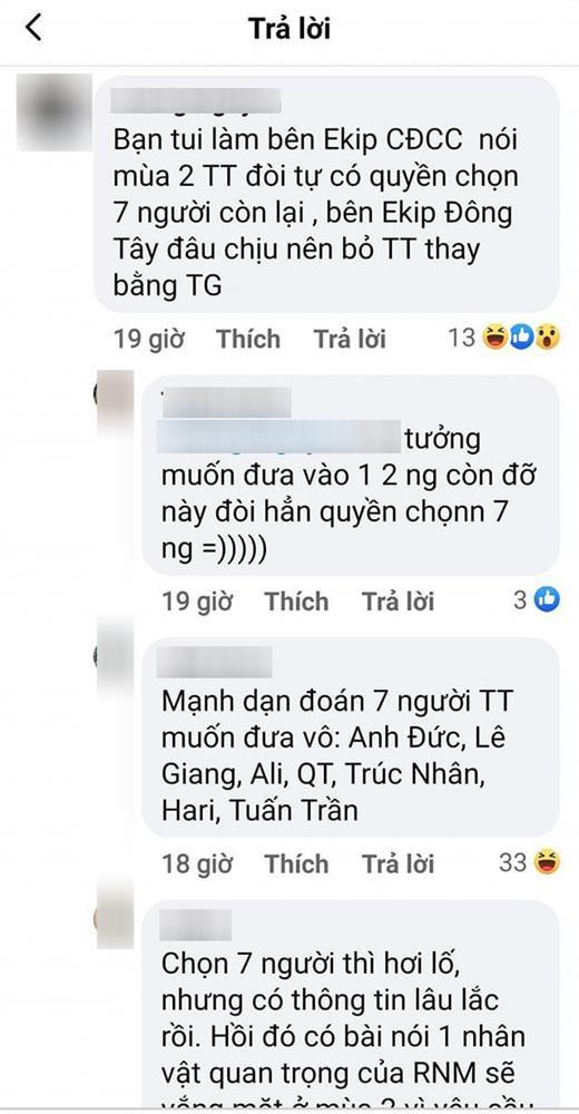 Rộ lý do khiến Trấn Thành bị loại khỏi đội hình Running Man Việt Nam-2