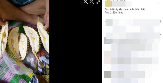 """Đầu mùa hí hửng mua sầu riêng về ăn, chàng trai ngã ngửa khi thấy bên trong toàn hạt đậu xanh""""-1"""