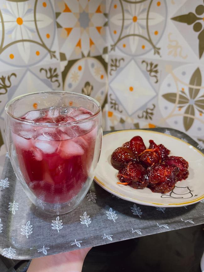 Mùa mận đến rồi, học mẹ đảm Hà thành làm ô mai mận, vừa có siro chua chua ngọt ngọt uống giải nhiệt mùa hè, vừa có đồ ăn vặt siêu ngon-1
